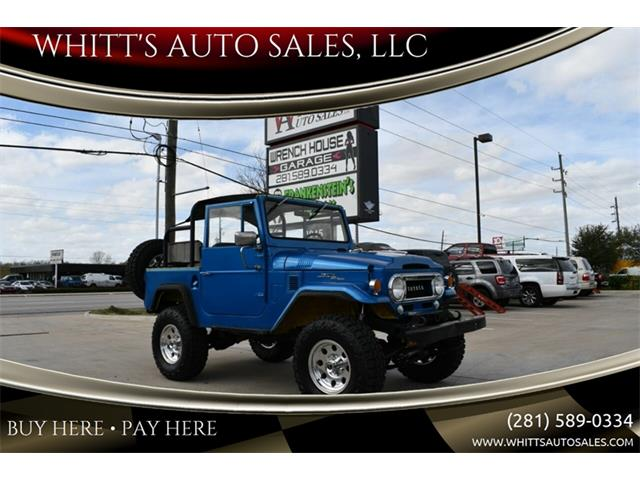 1966 Toyota Land Cruiser FJ (CC-1233908) for sale in Houston, Texas