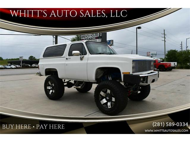 1983 Chevrolet Blazer (CC-1233919) for sale in Houston, Texas