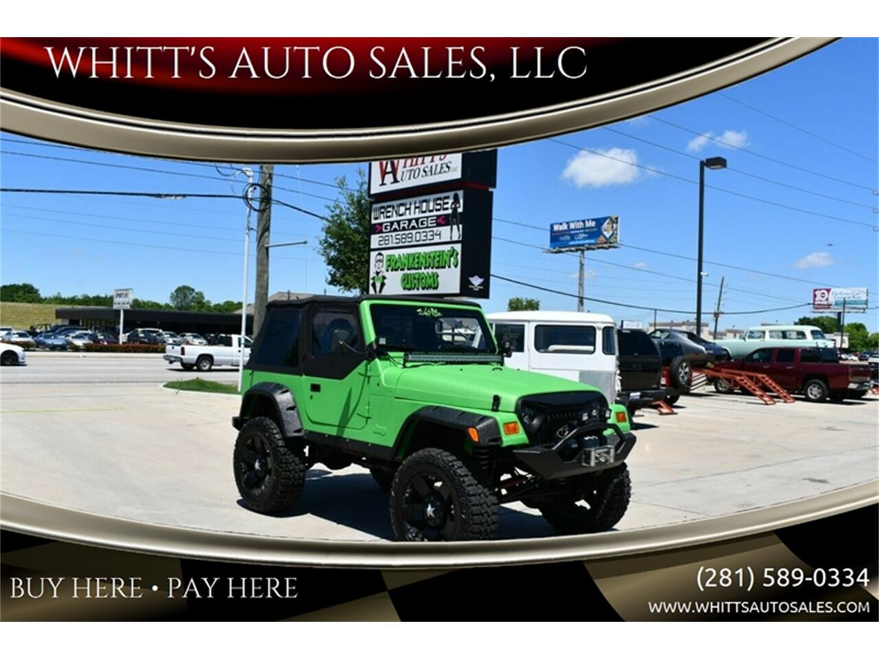 1999 Jeep Wrangler (CC-1233923) for sale in Houston, Texas