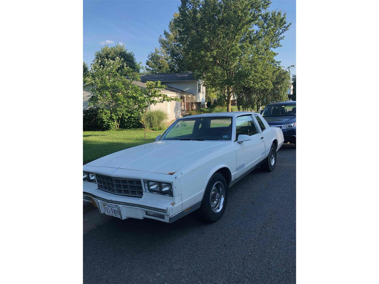 1986 Chevrolet Monte Carlo (CC-1233955) for sale in Putcellville, Virginia