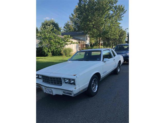 1986 Chevrolet Monte Carlo (CC-1233955) for sale in Putcellville, Virginia