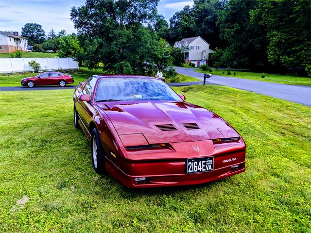 1986 Pontiac Firebird Trans Am WS6