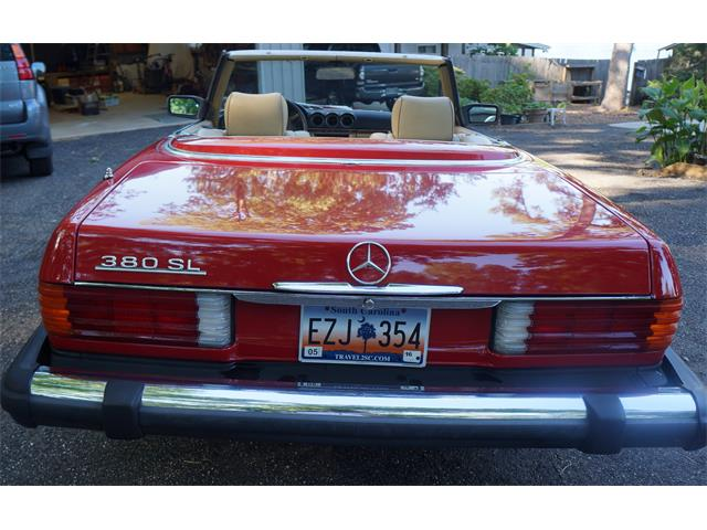 1982 Mercedes-Benz 380SL (CC-1234259) for sale in Waterloo, South Carolina