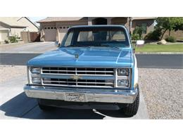 1986 Chevrolet K-10 (CC-1234553) for sale in Cadillac, Michigan