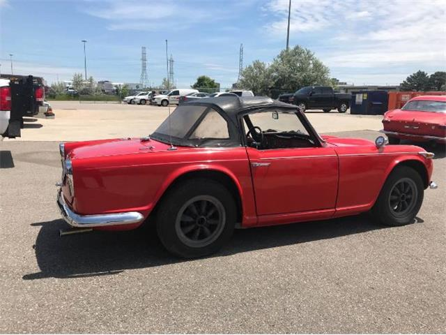 1966 Triumph TR4 (CC-1234673) for sale in Cadillac, Michigan