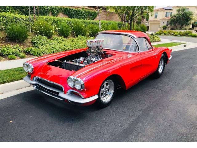1958 Chevrolet Corvette (CC-1234724) for sale in Cadillac, Michigan
