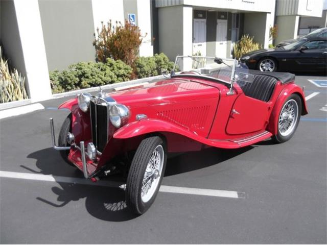 1949 MG TC (CC-1234740) for sale in Cadillac, Michigan