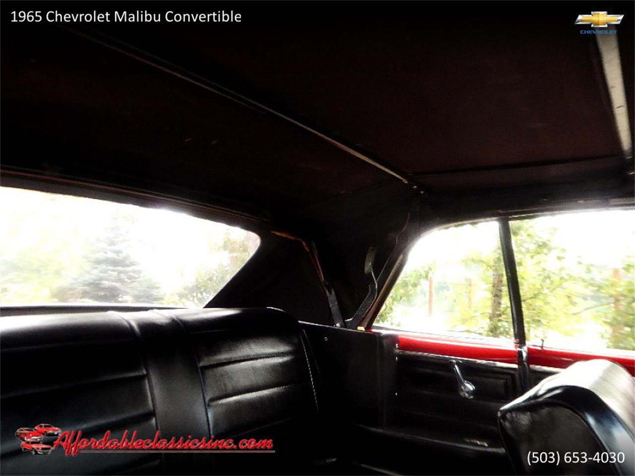 1965 Chevrolet Malibu (CC-1235204) for sale in Gladstone, Oregon