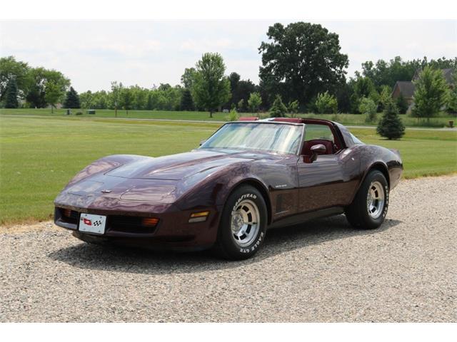 1982 Chevrolet Corvette (CC-1235601) for sale in Metamora, Michigan