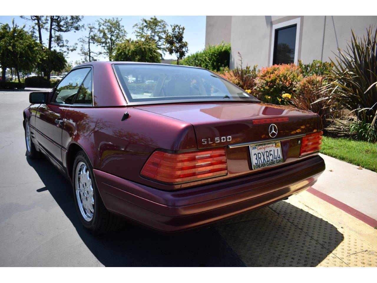 1996 Mercedes-Benz SL500 (CC-1235662) for sale in Costa Mesa, California