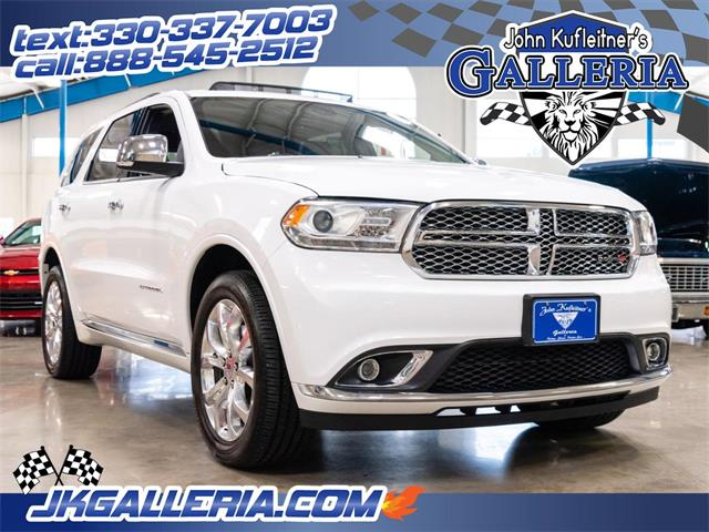 2017 Dodge Durango (CC-1235967) for sale in Salem, Ohio