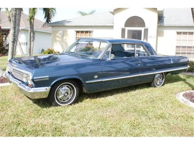1963 Chevrolet Impala (CC-1236223) for sale in Cadillac, Michigan