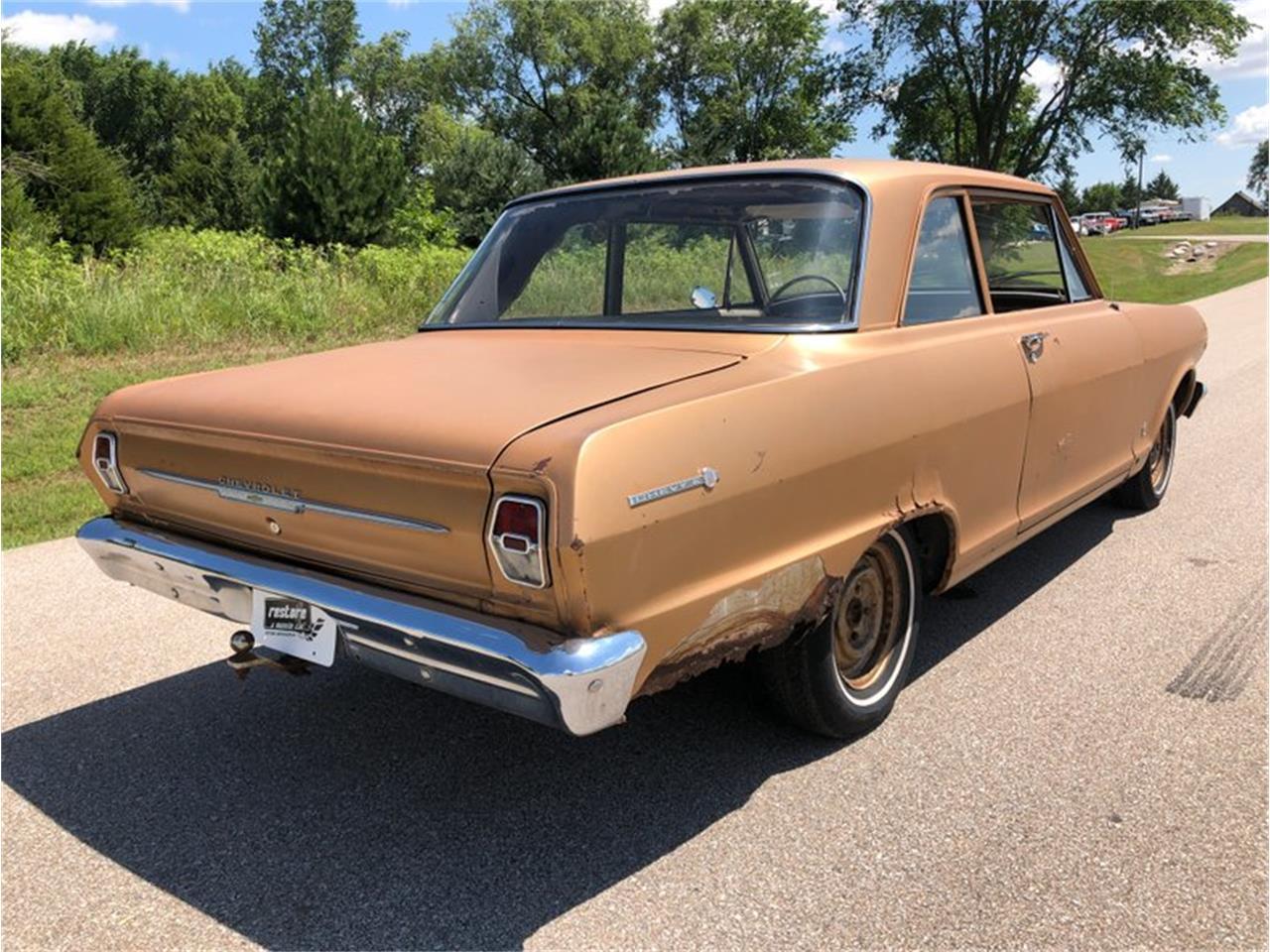 Chevys Lincoln Ne >> 1963 Chevrolet Chevy Ii For Sale Classiccars Com Cc 1236612