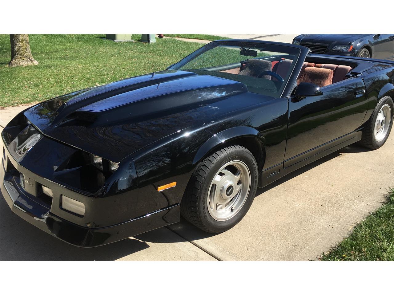 1989 Chevrolet Camaro IROC Z28 (CC-1236829) for sale in Platte City, Missouri