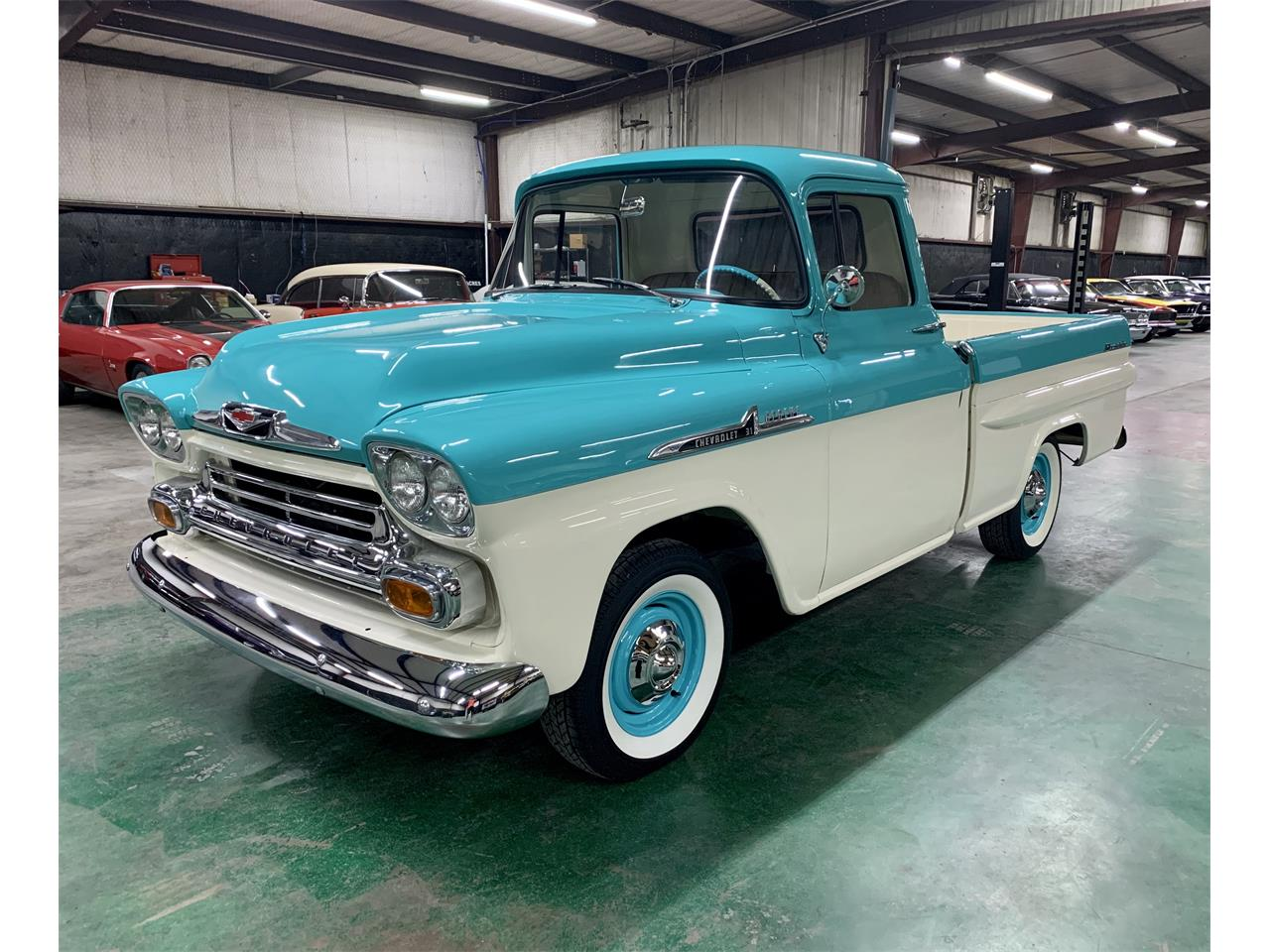 1958 Chevy Apache For Sale >> 1958 Chevrolet Apache For Sale Classiccars Com Cc 1230703