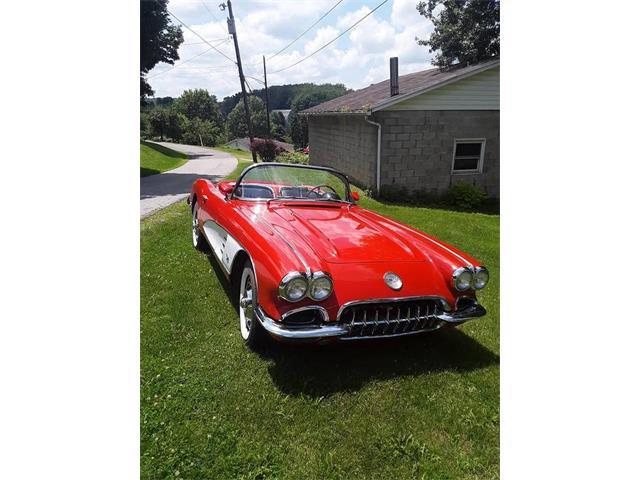 1960 Chevrolet Corvette (CC-1237210) for sale in West Pittston, Pennsylvania