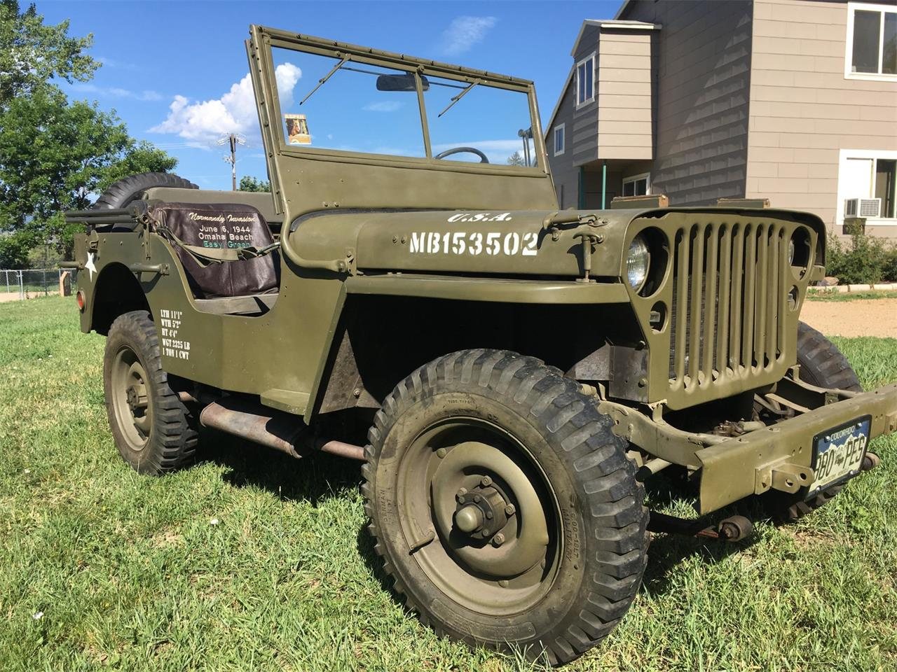 1942 Willys Jeep (CC-1237256) for sale in Longmont, Colorado