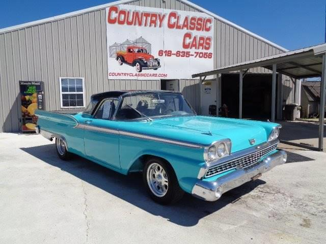 1959 Ford Fairlane 500 (CC-1239379) for sale in Staunton, Illinois