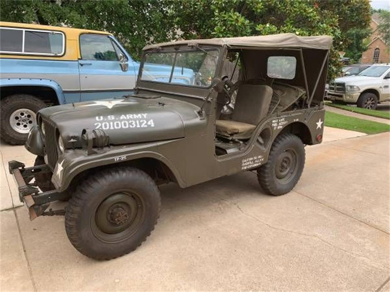 1954 Willys M38A1 (CC-1239998) for sale in Cadillac, Michigan