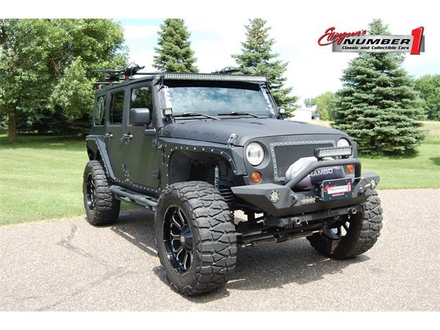 2010 Jeep Wrangler (CC-1241674) for sale in Rogers, Minnesota