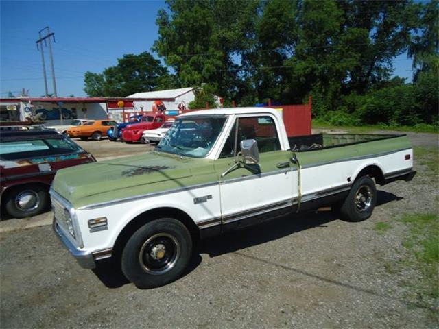 1972 Chevrolet C/K 10 (CC-1241770) for sale in Jackson, Michigan