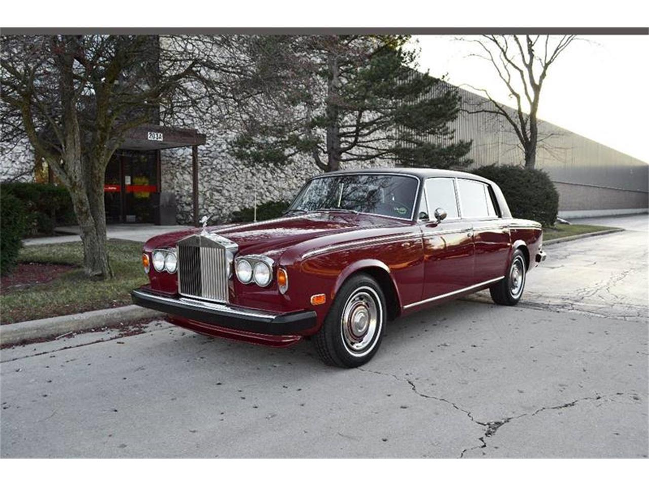 1975 Rolls-Royce Silver Shadow (CC-1240021) for sale in Carey, Illinois