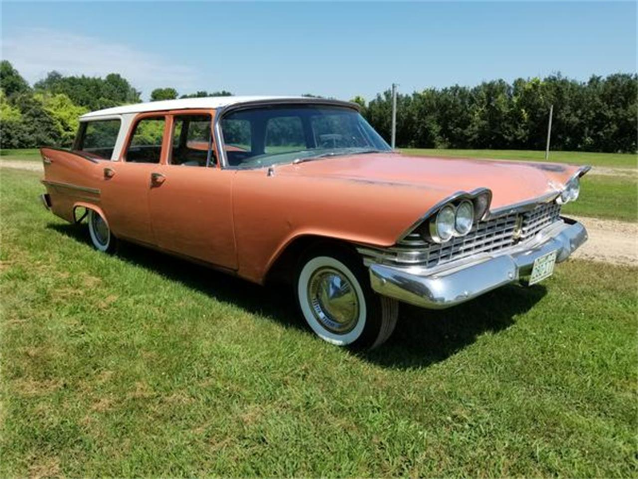 1959 Plymouth Suburban (CC-1242252) for sale in New Ulm, Minnesota