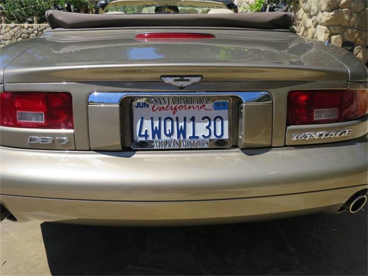 2002 Aston Martin DB7 (CC-1242677) for sale in Santa Barbara, California