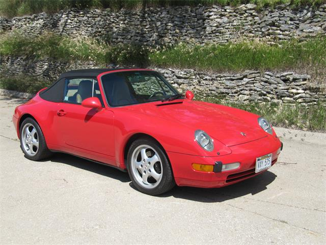 1995 Porsche 993 Carrera 2 Cabriolet (CC-1242685) for sale in Omaha, Nebraska