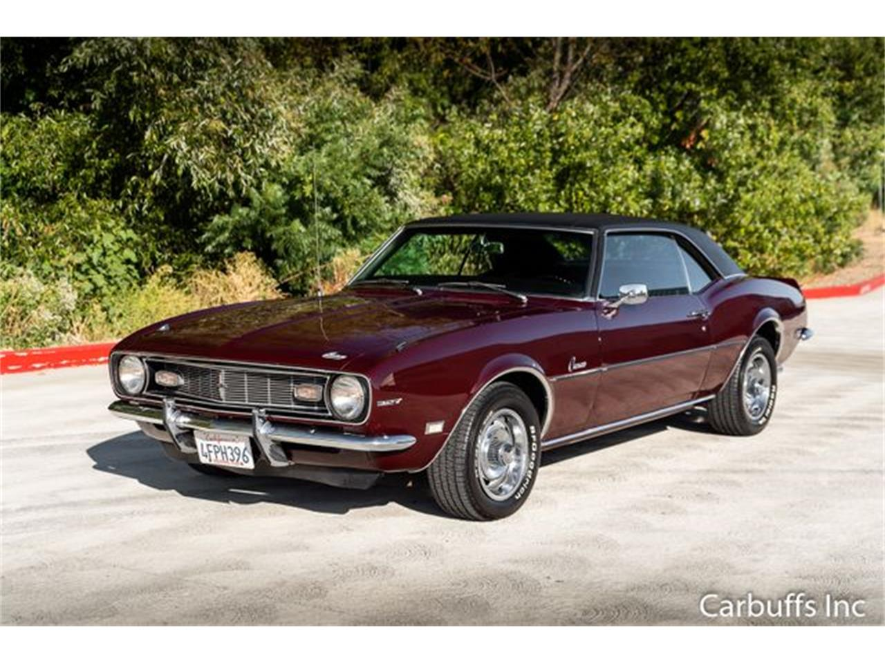 1968 Chevrolet Camaro (CC-1240289) for sale in Concord, California