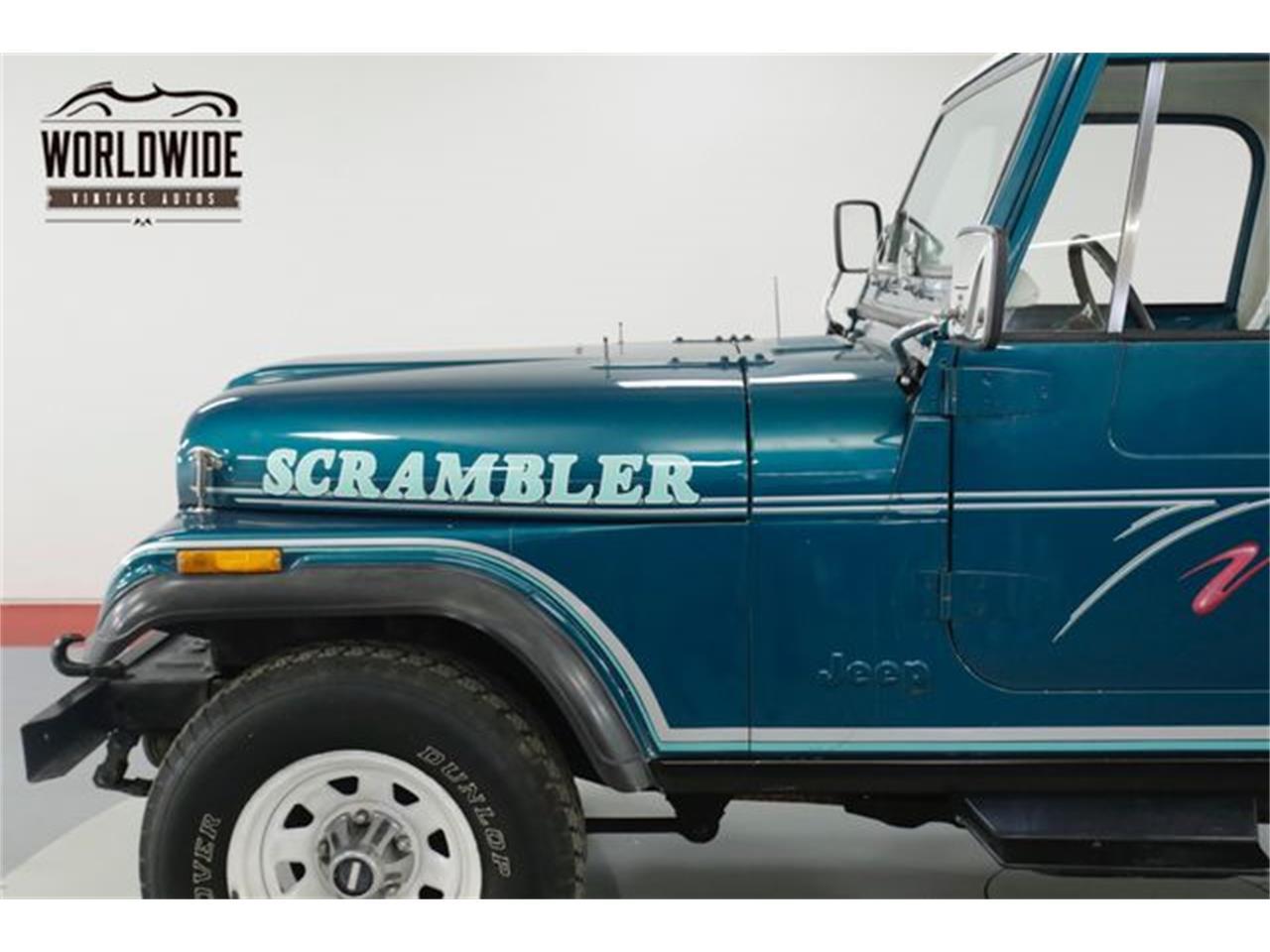 1982 Jeep CJ8 Scrambler (CC-1242982) for sale in Denver , Colorado