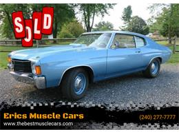 1972 Chevrolet Chevelle (CC-1243163) for sale in Clarksburg, Maryland
