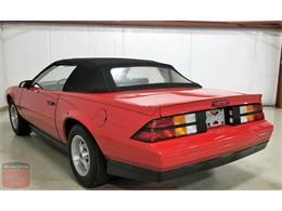 1987 Chevrolet Camaro (CC-1243305) for sale in Whiteland, Indiana