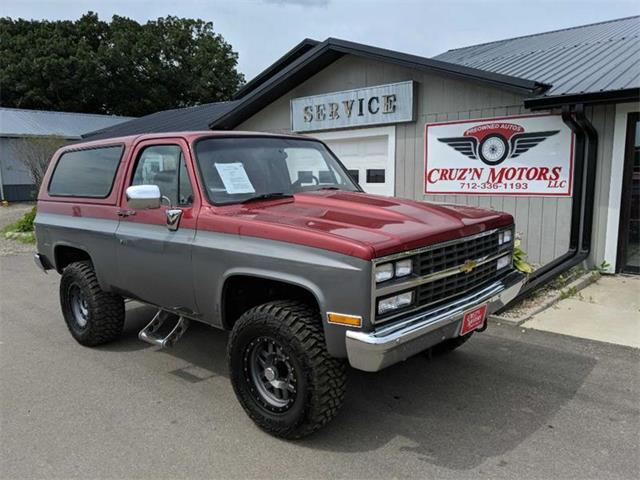1990 Chevrolet Blazer (CC-1244035) for sale in Spirit Lake, Iowa