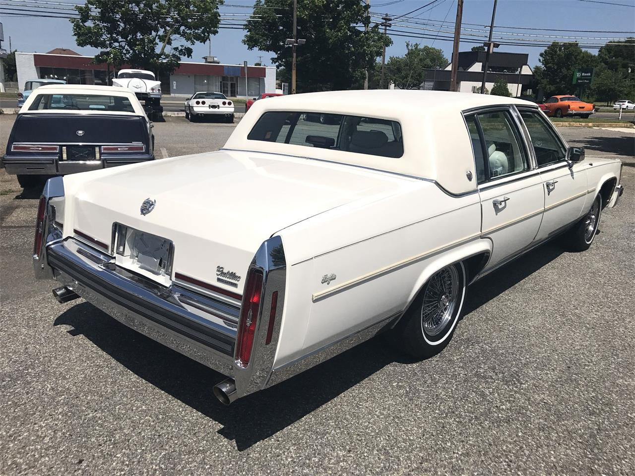 1987 Cadillac Brougham (CC-1244186) for sale in Stratford, New Jersey