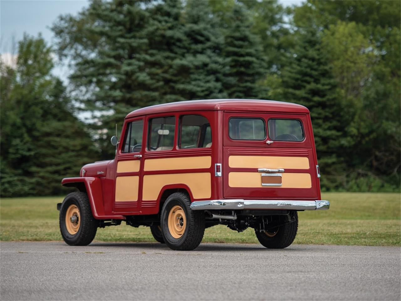 1955 Willys Wagon (CC-1244232) for sale in Auburn, Indiana