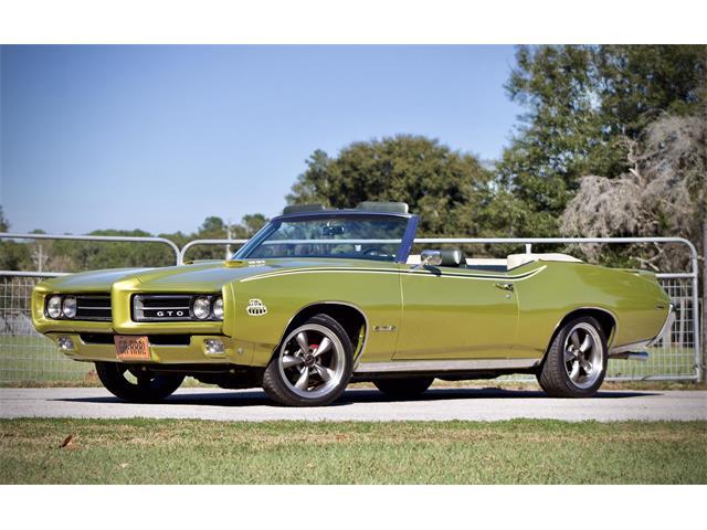 1969 Pontiac GTO (CC-1244536) for sale in EUSTIS, Florida