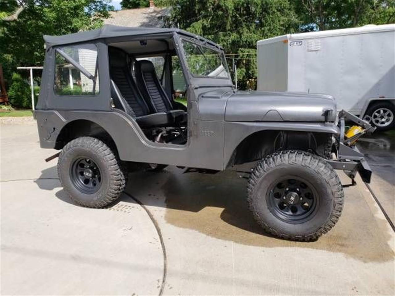 1957 Willys Jeep (CC-1244659) for sale in Cadillac, Michigan