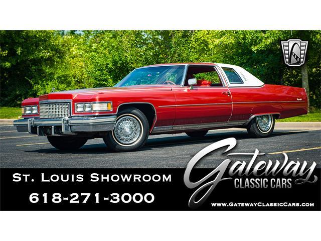 1976 Cadillac DeVille (CC-1245524) for sale in O'Fallon, Illinois