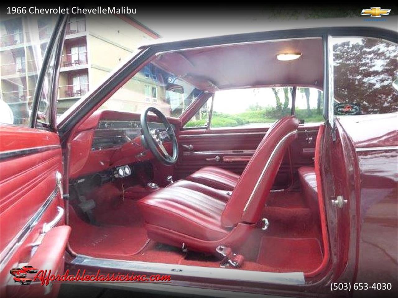 1966 Chevrolet Chevelle Malibu (CC-1245621) for sale in Gladstone, Oregon