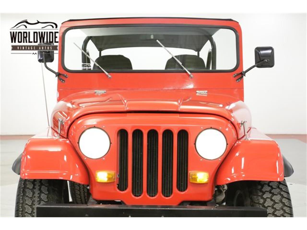 1978 Jeep CJ5 (CC-1240587) for sale in Denver , Colorado
