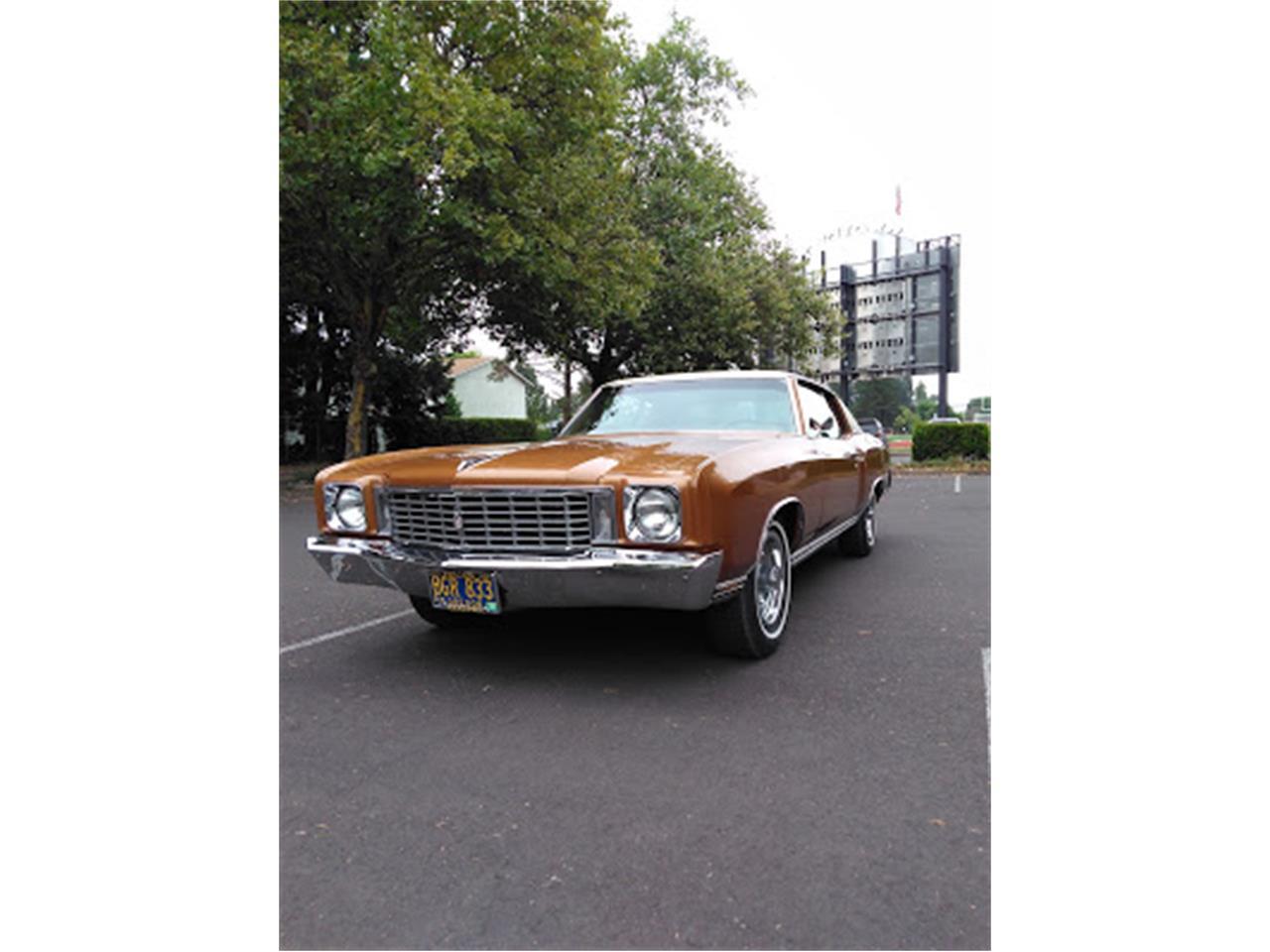 1972 Chevrolet Monte Carlo (CC-1246256) for sale in Gaston, Oregon