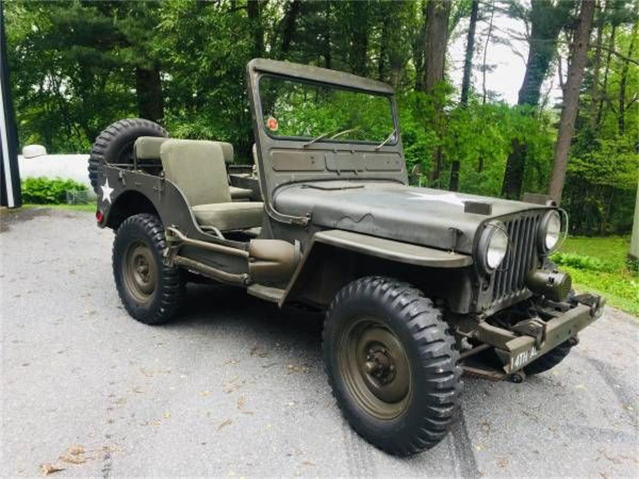1951 Willys Jeep (CC-1246420) for sale in Cadillac, Michigan