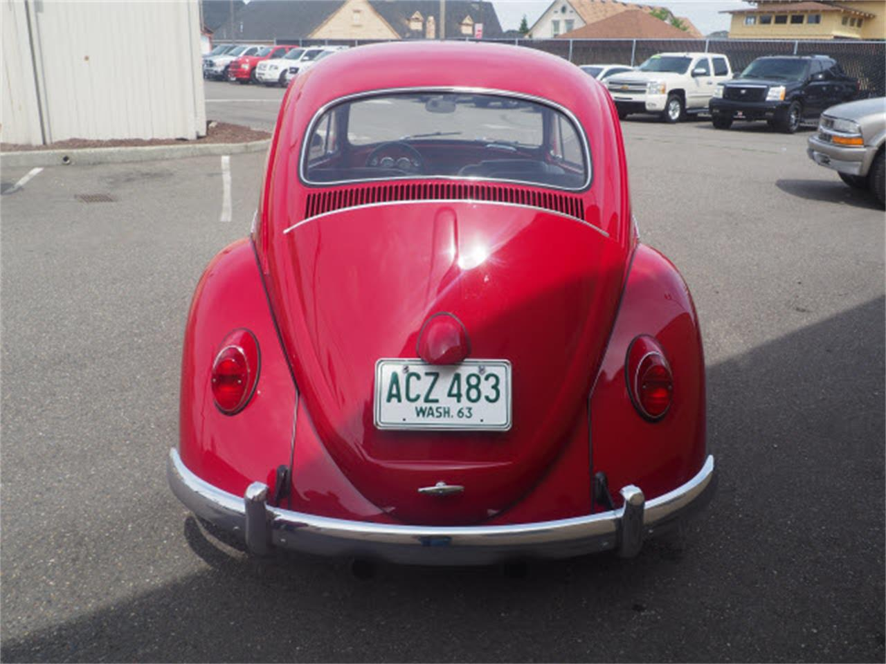 1964 Volkswagen Beetle (CC-1246455) for sale in Tacoma, Washington