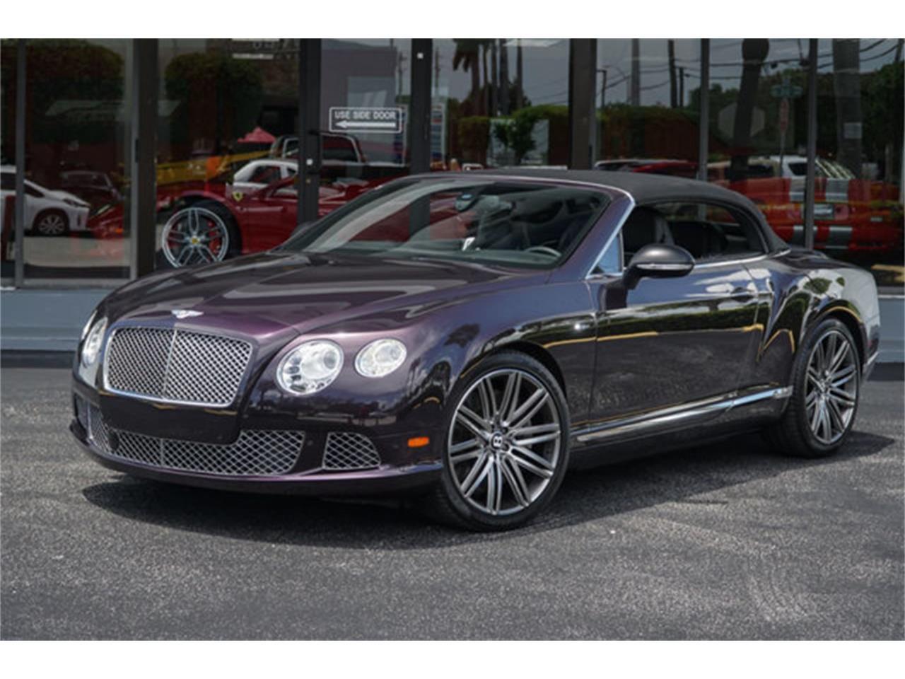 2014 Bentley Continental (CC-1246634) for sale in Miami, Florida