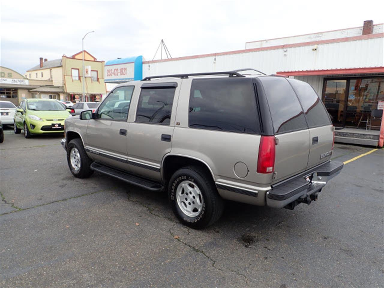1999 Chevrolet Tahoe (CC-1246638) for sale in Tacoma, Washington