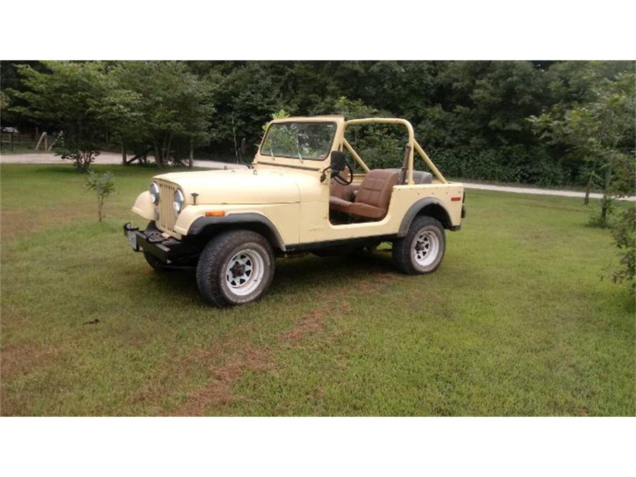 1979 Jeep CJ7 (CC-1246660) for sale in Cadillac, Michigan