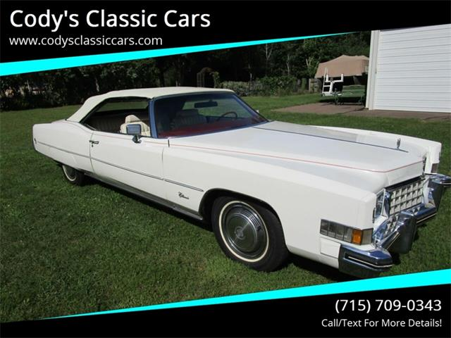 1973 Cadillac Eldorado (CC-1246765) for sale in Stanley, Wisconsin