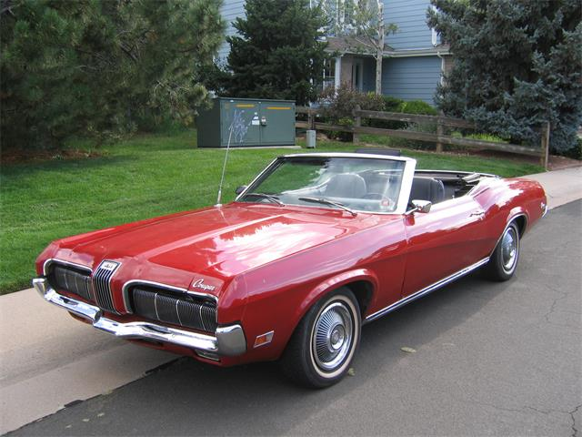 1970 Mercury Cougar XR7 (CC-1246823) for sale in Littleton, Colorado