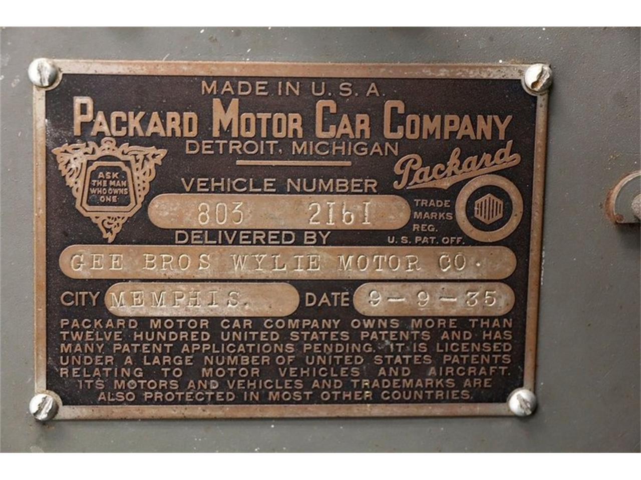 1935 Packard 120 (CC-1246923) for sale in Morgantown, Pennsylvania